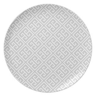 Modelo dominante griego gris plato