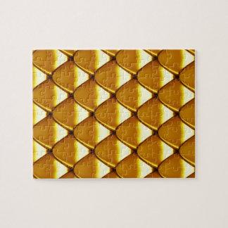 Modelo elegante de la escala del oro puzzle