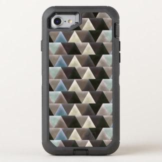 Modelo elegante de la geometría del terciopelo funda OtterBox defender para iPhone 8/7