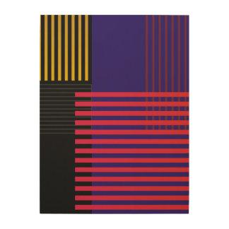 Modelo elegante de Suprematic Impresión En Madera