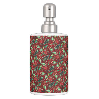 Modelo elegante hermoso rústico floral de Autimn Conjunto De Baño