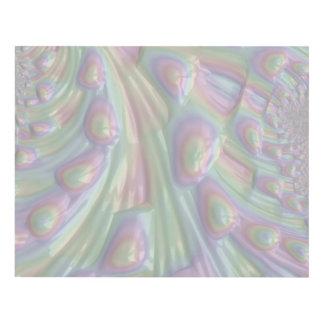 Modelo en colores pastel del arte abstracto 3D del