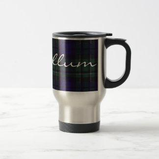 Modelo escocés del tartán de MacCallum Taza De Café