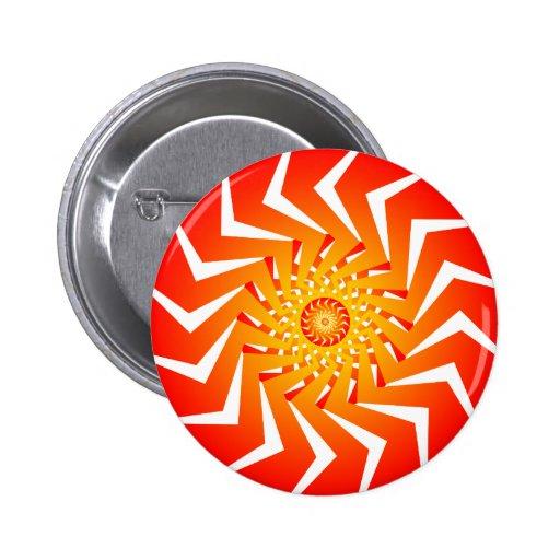 Modelo espiral anaranjado: Arte del vector: Pins