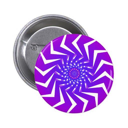 Modelo espiral púrpura: Arte del vector: Pin