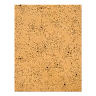 Modelo fantasmagórico de los Web de araña de Tarjetas Informativas
