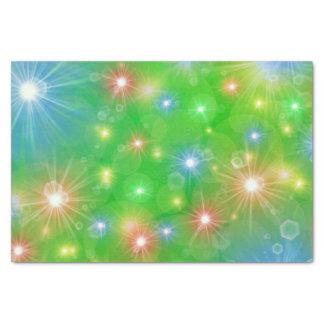 modelo festivo, colorido, alegre papel de seda