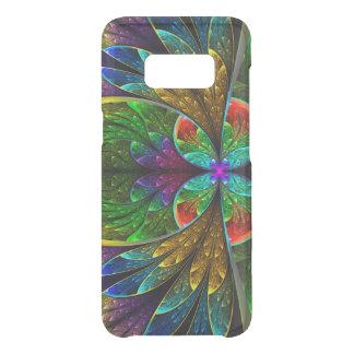 Modelo floral abstracto del vitral funda para samsung galaxy s8 de uncommon