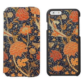 Modelo floral de Nouveau del arte de William Funda Cartera Para iPhone 6 Watson