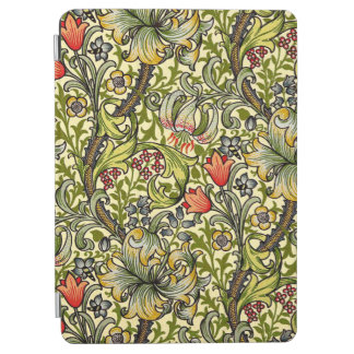 Modelo floral del lirio de William Morris Cover De iPad Air