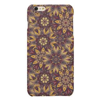 Modelo floral étnico abstracto colorido de la