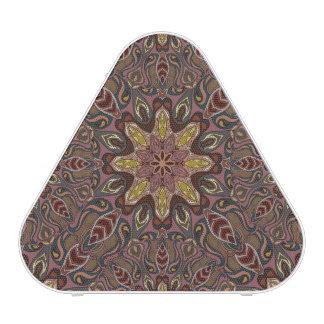 Modelo floral étnico abstracto colorido de la altavoz