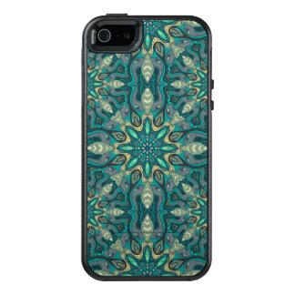 Modelo floral étnico abstracto colorido de la funda otterbox para iPhone 5/5s/SE
