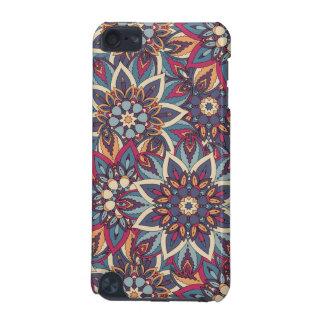 Modelo floral étnico abstracto colorido de la funda para iPod touch 5G