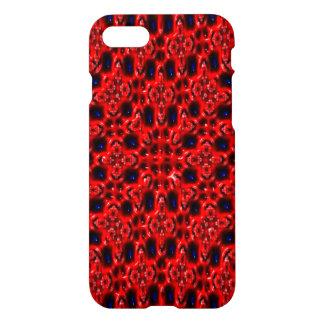 Modelo fresco abstracto moderno rojo funda para iPhone 7
