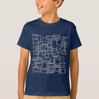 Modelo fresco camiseta