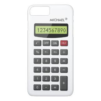 Modelo fresco de la calculadora de la diversión funda para iPhone 8 plus/7 plus