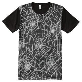 Modelo fresco de los Web de araña Camiseta Con Estampado Integral