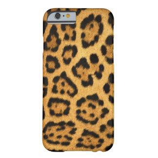 Modelo fresco del leopardo funda para iPhone 6 barely there