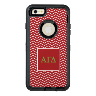 Modelo gamma alfa del delta el | Chevron Funda OtterBox Defender Para iPhone 6 Plus