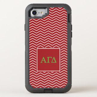 Modelo gamma alfa del delta el | Chevron Funda OtterBox Defender Para iPhone 7