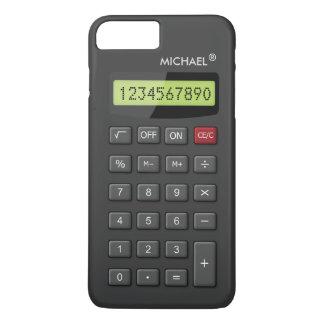 Modelo Geeky divertido de la calculadora Funda Para iPhone 8 Plus/7 Plus