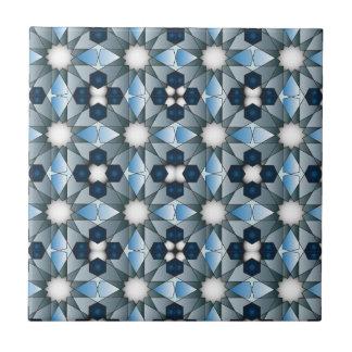 Modelo geométrico 004 de Ben Yusuf Madrasa Azulejo Cuadrado Pequeño