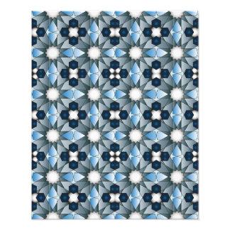 Modelo geométrico 004 de Ben Yusuf Madrasa Impresión Fotográfica