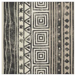 Modelo geométrico africano telas