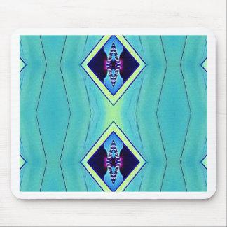 Modelo geométrico artístico en colores pastel alfombrilla de ratón
