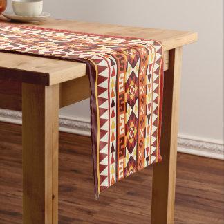 Modelo geométrico azteca otoñal camino de mesa