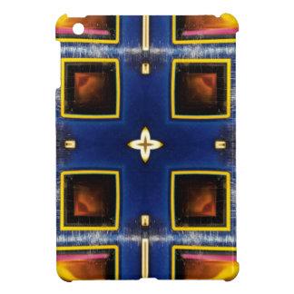 Modelo geométrico azul masculino de la cadera