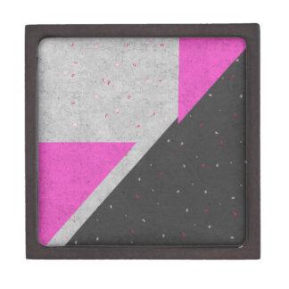 Modelo geométrico de las formas caja de regalo