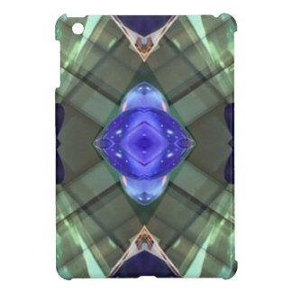 Modelo geométrico del fractal del verde azul