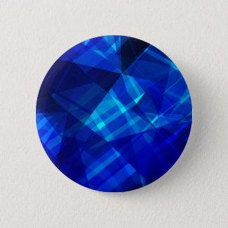 Modelo geométrico del hielo azul fresco chapa redonda de 5 cm