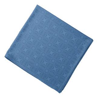 Modelo geométrico entrecruzado azul sutil bandanas