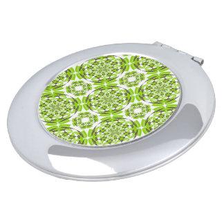Modelo geométrico fresco espejo para el bolso