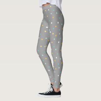 Modelo geométrico gris Legging