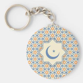 modelo geométrico islámico llavero
