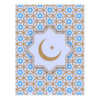 modelo geométrico islámico postal