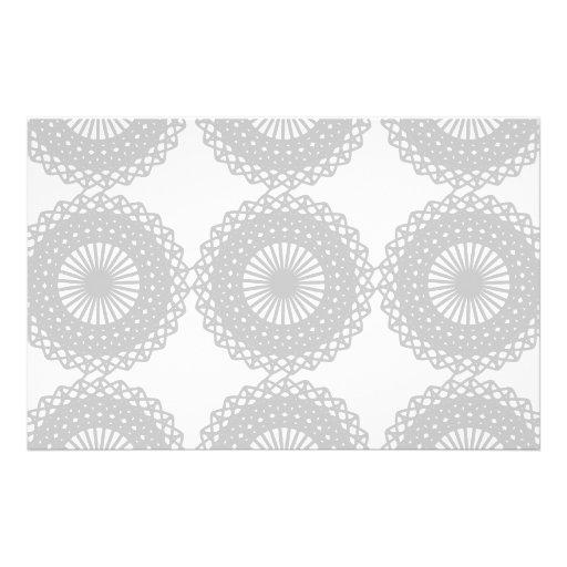 Modelo gris del diseño del cordón flyer a todo color