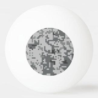 Modelo gris urbano de Camo del pixel Pelota De Ping Pong