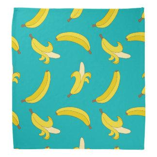 Modelo ilustrado plátanos ido divertido bandanas