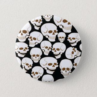 modelo inconsútil con los cráneos 3,2 chapa redonda de 5 cm