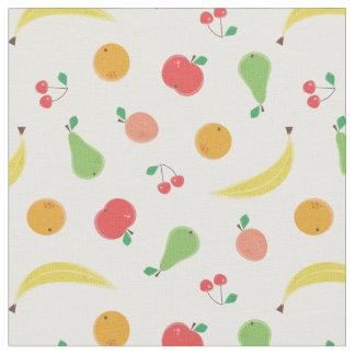 Modelo inconsútil de las frutas deliciosas telas