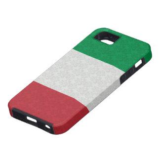 Modelo italiano del damasco de la bandera iPhone 5 Case-Mate funda