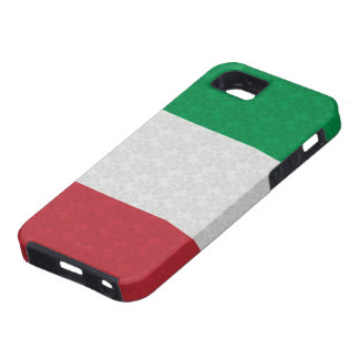 Modelo italiano del damasco de la bandera iPhone 5 protector