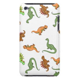 Modelo lindo del dinosaurio iPod touch coberturas
