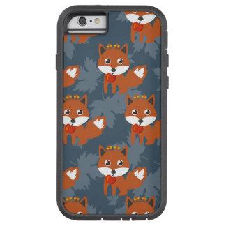 Modelo lindo del Fox del otoño Funda Tough Xtreme iPhone 6