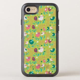 Modelo lindo uno del pájaro funda OtterBox symmetry para iPhone 8/7